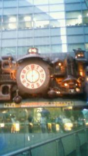 宮崎駿デザインのからくり大時計