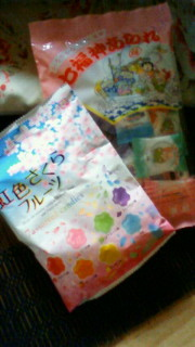 虹色お菓子